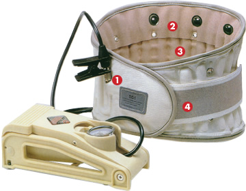 Spinal Air-Traction Lumbar Belt